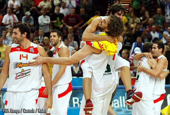 4. Pau Gasol (Spain), 6. Ricky Rubio (Spain)